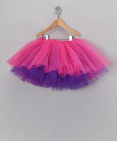Fashion Belles Hot Pink & Purple Reversible Tutu on #zulily!