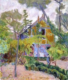Pierre Bonnard - House among Trees (1918)