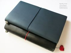 Notebook Review: Traveler's Notebook Blue Edition | Rants of The Archer
