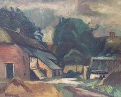 Piet van Wijngaerdt,1873-1964. Boerderij in Heeze.