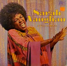 Sarah Vaughan A Time in My Life 1971 LP