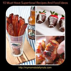 I don't know about you, but in my house a Superbowl party just isn't complete without a ton of tasty food! I need sweet, salty and hearty!