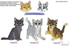 Fern and ivy kits by silverzoul warrior cats clans, warrior cat memes, warrior cats Warrior Cats Clans, Warrior Cats Comics, Warrior Cat Memes, Warrior Drawing, Warrior Cat Drawings, Warrior Cats Fan Art, Warrior Cats Art, Cat Comics, Love Warriors