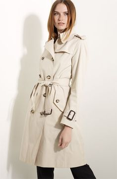Is a two week trip to Scotland in November a good enough excuse?? $1195.00 Burberry London Stretch Poplin Belted Trench | Nordstrom
