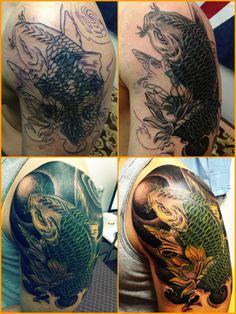 coverup tattoo by JK tattoo