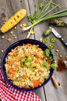 Grilled Sweet Corn and Jalapeno Slaw from @farmgirlsdabble for Food & Friends. Perfect for picnics!