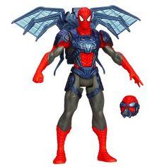 Figurine Spiderman : Spider Strike : Ailes en toile Hasbro - Magasin de Jouets pour Enfants