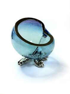 Pewter and handblown Glass www.fleurgrenier.co.uk
