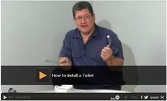 Video: How to Install a Toilet - Installing a toilet is a lot faster and cheaper than hiring a plumber. We show you how to install a toilet yourself and share tips to avoid mistakes and expensive service calls. Watch: http://www.familyhandyman.com/plumbing/toilet-repair/how-to-install-a-toilet