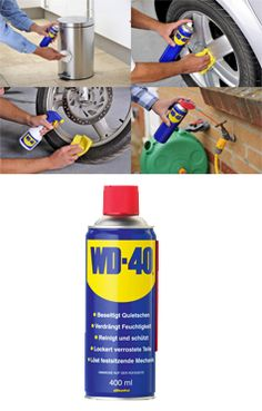 Buy #WD-40 Spray, Keep Your #Car New Forever, Perfect for Removal Of Labels, Tape Stickers & Excess Bonding Material. Shop @ Toolcasa.com