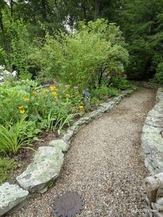 Gravel makes a nice path.  A Whole Bunch Of Beautiful & Enchanting Garden Paths ~ Part3 - Style Estate -