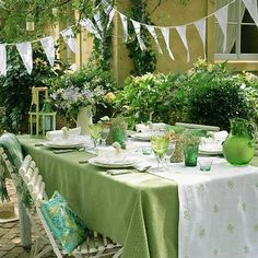 How to Organize Perfect Labor Day Party, 15 Summer Party Table Decoration Ideas