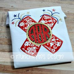 Hey, I found this really awesome Etsy listing at https://www.etsy.com/listing/187521483/firecracker-monogram-applique