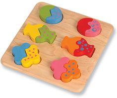 Geo-formas Puzzles 2 peças