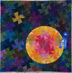 Running Hot and Cold quilt by Holly Quilts