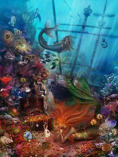 The Mermaid's Treasure ~ Aimee Stewart