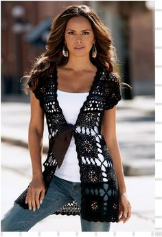 Outstanding Crochet: Crochet vest from Boston Proper. Starting...
