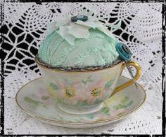 teacup pincushion variation