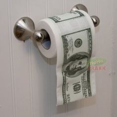 Toilet Paper...because that's how ballers wipe d'a***