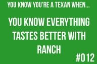 You're a Texan...this definitely applies to Alex!!