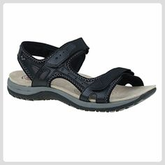 Tyler - Black Leather - Sandalen für frauen (*Partner-Link)