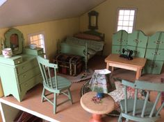 Mel Davey Nantucket Cottage upstairs bedroom