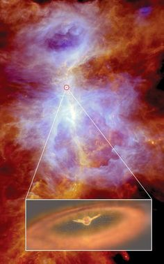 Al estudiar la truculenta infancia de estrellas parecidas a nuestro Sol con el observatorio espacial Herschel de la ESA, los astrónomos han ...