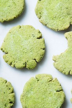 These matcha tea- and avocado-infused cookies will be the highlight of every holiday cookie swap.