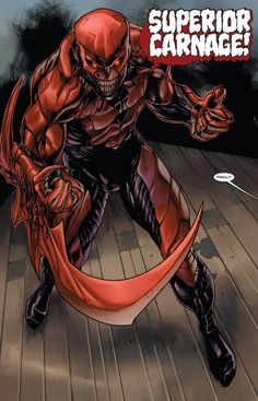 Superior Carnage from Superior Carnage #3