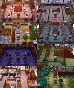 If you want to visit them here is my Dream Code: 7500 2364 Shamrock Village! If you want to visit them here is my Dream Code: 7500 2364 9142 Animal Crossing 3ds, Animal Crossing Wild World, Animal Crossing Pocket Camp, Ghibli, Cool Stuff, Pub Bar, Exterior Design, Interior And Exterior, Ac New Leaf
