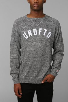 Undefeated Logo Sweater #urbanoutfitters