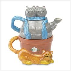 Kathy Hatch's Purr-Fect Tea for One Teapot Set Gift Warehouse http://www.amazon.com/dp/B000QS544S/ref=cm_sw_r_pi_dp_B5Gbvb0F75R9V