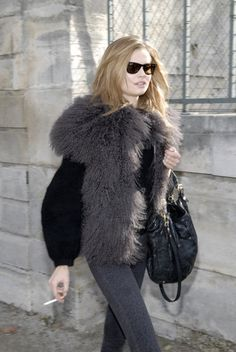Vest  more fur fashion design inspirations at http://yukon-fur.com/Fur_Coat_Inspiration.html