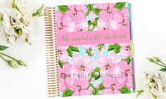 Erin Condren Cover DIY Planner Cover Life by PrettyPlannerPlus