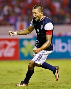 At least this dude is on the team this year. Clint Dempsey rules. :)