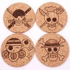 One Piece Cork Coasters Shut Up And Take My Yen : Anime & Gaming Merchandise