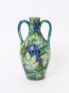 A Della Robbia Pottery Moorish vase by Cassandra Annie Walker - Lot 222 - British Art Pottery