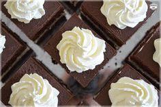 Pyszny biszkopt kakaowy przełożony bitą śmietaną, polany czekoladą i zwieńczony jeszcze kleksem ze śmietany to nic innego jak klasyczna wuzetka. Bardzo dobrze zachowuje swój kształt i daje się pokroić w idealneprostokąty, co doskonale widać na poniższych zdjęciach. Zdecydowanie polecam na nadchodzące Święta Wielkanocne. [recipe] Nie wiesz jakiej ilości składników potrzebujesz do upieczenia ciasta w swojej …