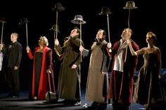 Hamlet. Directed by Yury Butusov. Moscow Art Theatre. Marina Golub - Gertrude
