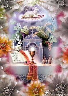 Gifs religiosos: Gifs de Santisima Eucaristia