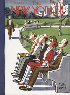 The New Yorker - Saturday, May 6, 1944 - Issue # 1003 - Vol. 20 - N° 12 - Cover by : Peter Arno