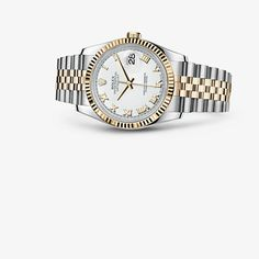 #DateJust #OysterPerpetualCollection #Steel #YellowGold #Rolex 36 mm