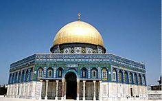 Mont du Temple Mosquée Al-Aqsa (appelée également Dôme du Rocher)- Jérusalem Israël