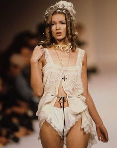 Kate Moss for John Galliano s/s, 1992