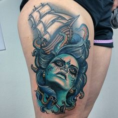 tattooworkers:  Tattoo by @ma_reeni_tattoos