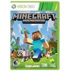 MINECRAFT * XBOX 360 * BRAND NEW FACTORY SEALED!