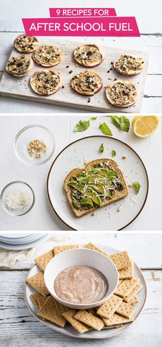 It's back-to-school season, which means it's time to stock up on quick, easy, and delicious after-school snack ideas to share with your kids. This list of after-school snack recipes has it all—from dips and spreads to bite-size treats. These just might be the yummiest way to refuel after a busy school day!