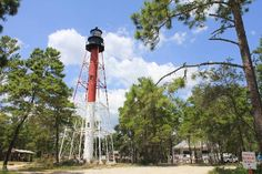 Crooked River Lighthouse, Museum and Park (east of Apalachicola FL)