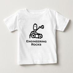 Engineer Bot Engineering Rocks Infant T Shirt, Hoodie Sweatshirt