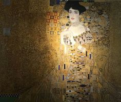 The women in gold. Gustav Klimt
